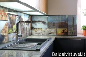 Stiklas su nuotrauka
