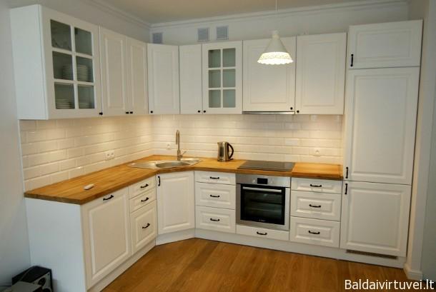 Klasikinė stilinga virtuvė
