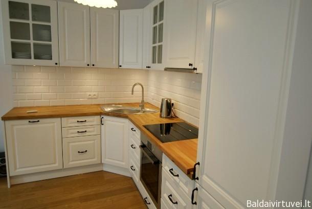 Klasikiniai virtuviniai baldai Vilniuje